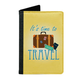 Passport Cover Passport Holder - For Men and Women Its Time To Travel With Bag