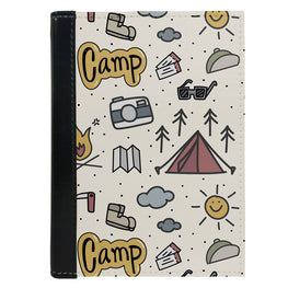 Passport Cover Passport Holder - For Men and Women Ready To Go Camp