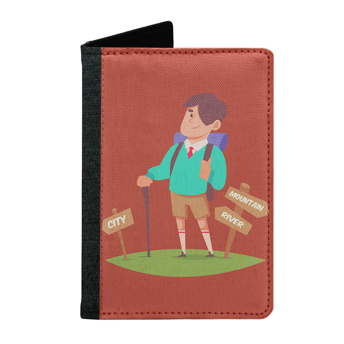 Passport Cover Passport Holder - For Men and Women Ready To Travel On Mountain