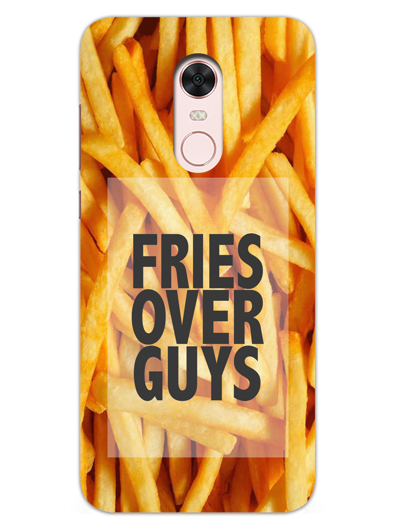 Fries Over Guys RedMi Note 5 Mobile Cover Case - MADANYU