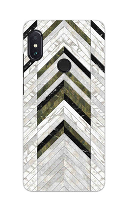 Marble Strips Line Pattern Geometric Art RedMi Note 6 Pro Mobile Cover Case