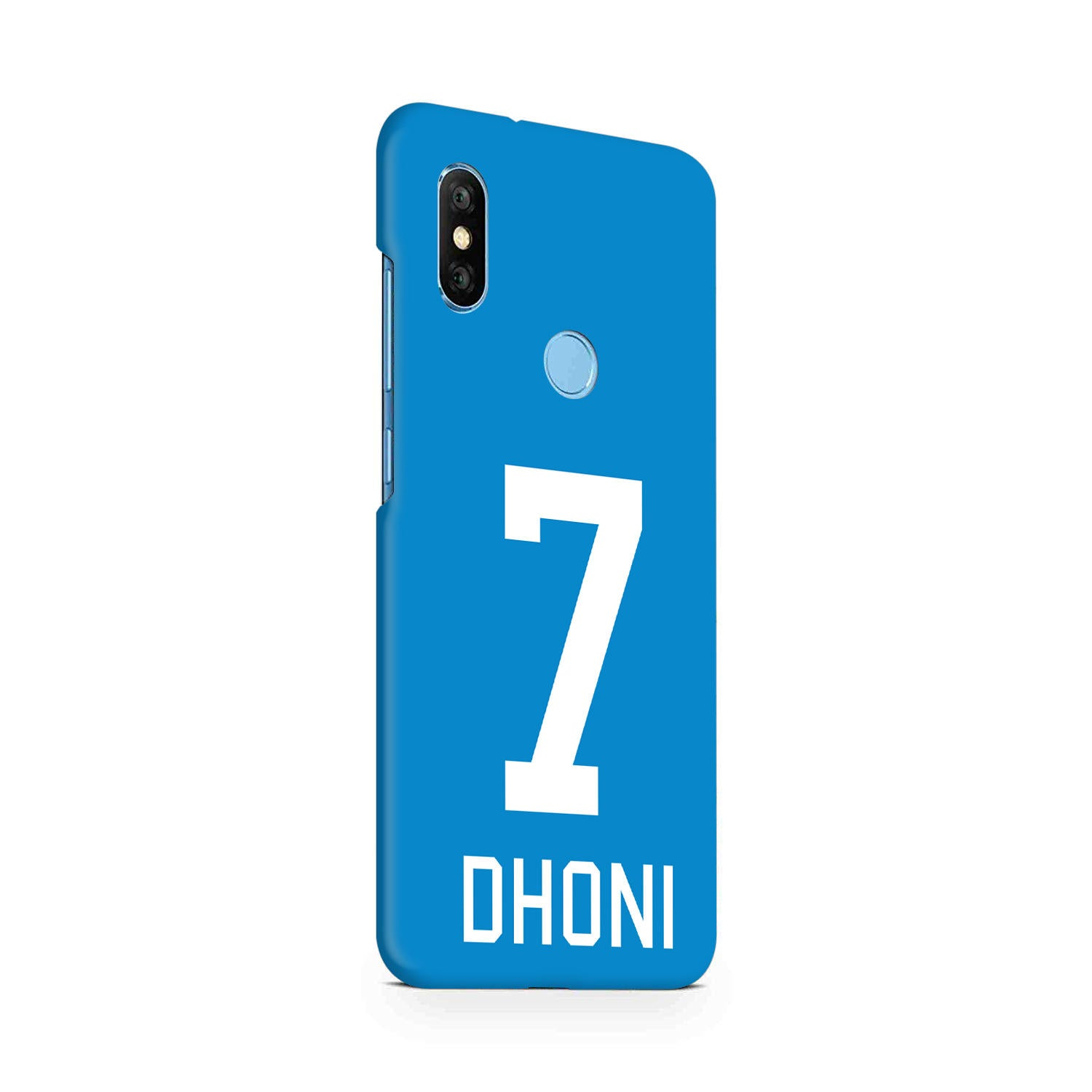 Dhoni Jersey RedMi Note 6 Pro Mobile Cover Case - MADANYU