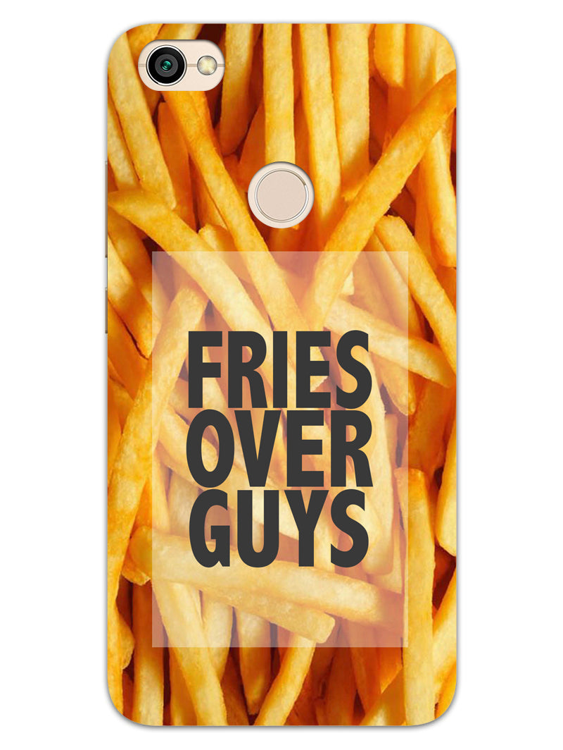 Fries Over Guys RedMi Y1 Mobile Cover Case - MADANYU