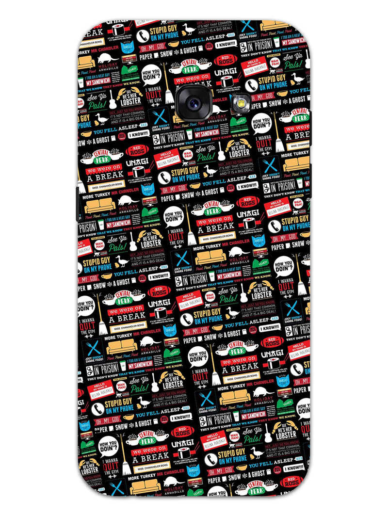 FRIENDS Samsung Galaxy A3 2017 Mobile Cover Case