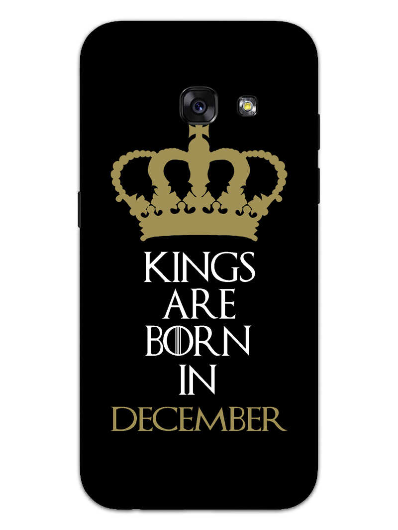 Kings December Samsung Galaxy A3 2017 Mobile Cover Case