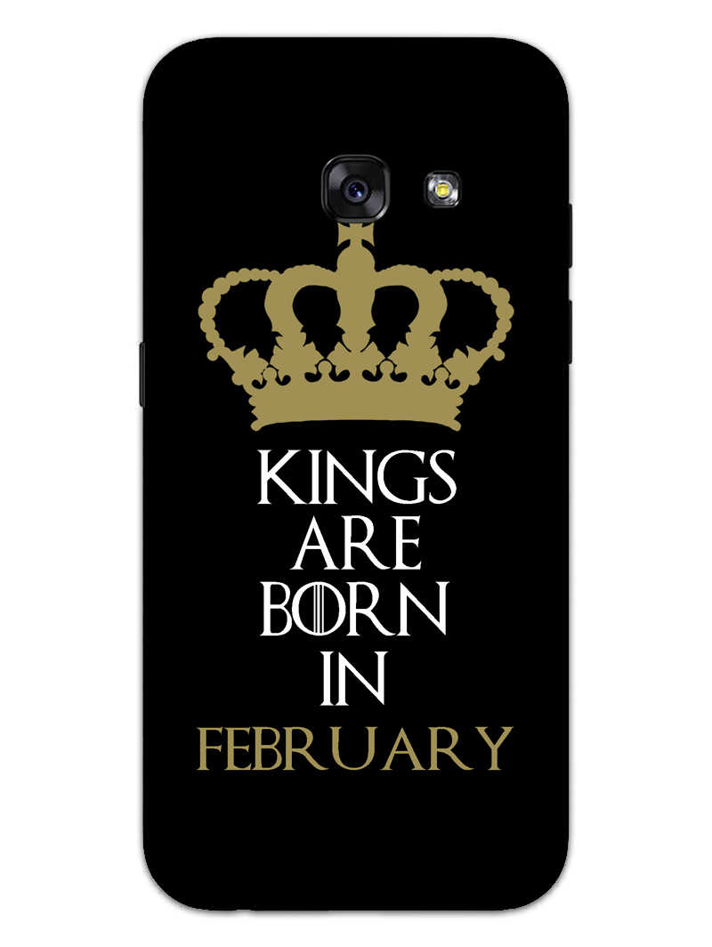 Kings February Samsung Galaxy A3 2017 Mobile Cover Case