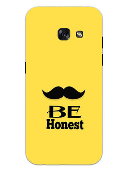 Be Honest Mustache Motivational Quote Samsung Galaxy A3 2017 Mobile Cover Case