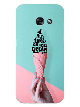 Melt Like An IceCream Lovers Samsung Galaxy A3 2017 Mobile Cover Case