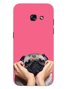 Funny Pug Dog Lovers Samsung Galaxy A3 2017 Mobile Cover Case