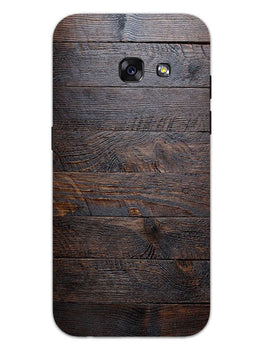 Wooden Wall Samsung Galaxy A3 2017 Mobile Cover Case
