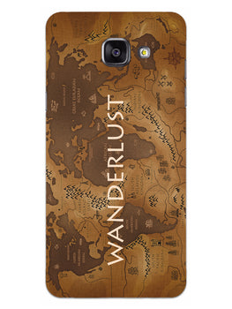 Wanderlust Traveller Globe Trotter Samsung Galaxy A5 2016 Mobile Cover Case