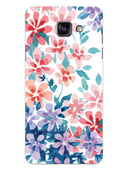 Floral Art Samsung Galaxy A5 2016 Mobile Cover Case