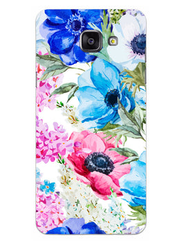 Hand Painted Floral Samsung Galaxy A5 2016 Mobile Cover Case