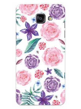 Floral Pattern Samsung Galaxy A5 2016 Mobile Cover Case