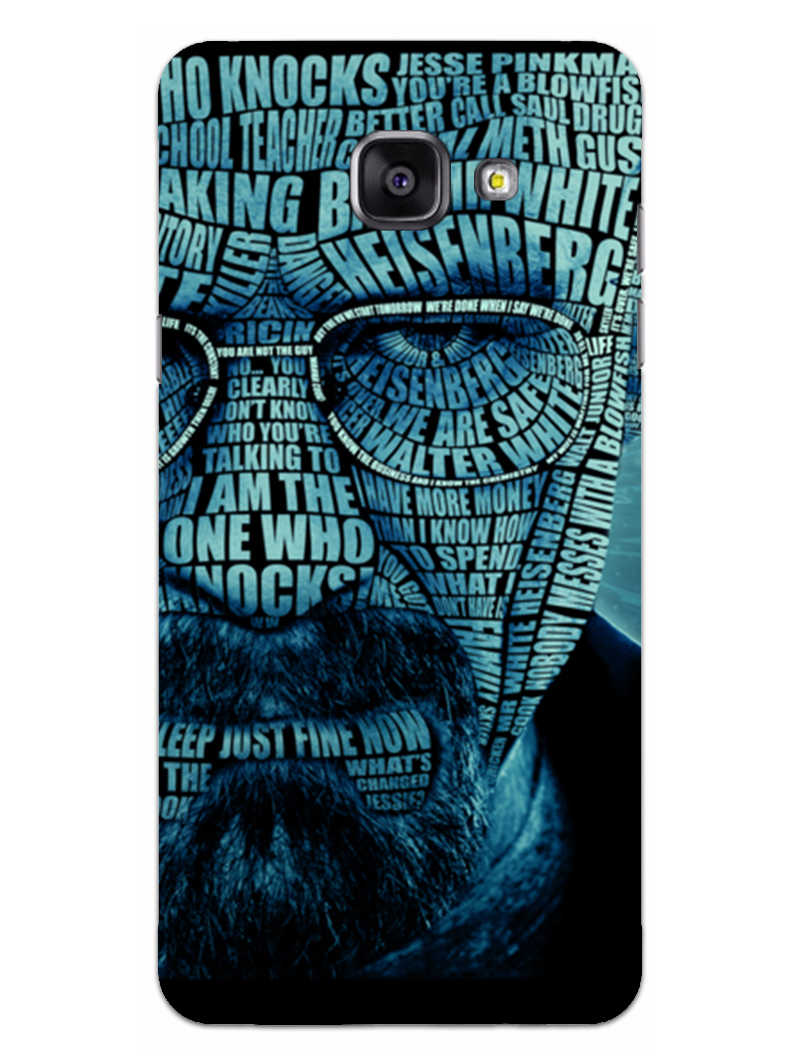 Heisenberg Typography Samsung Galaxy A5 2016 Mobile Cover Case
