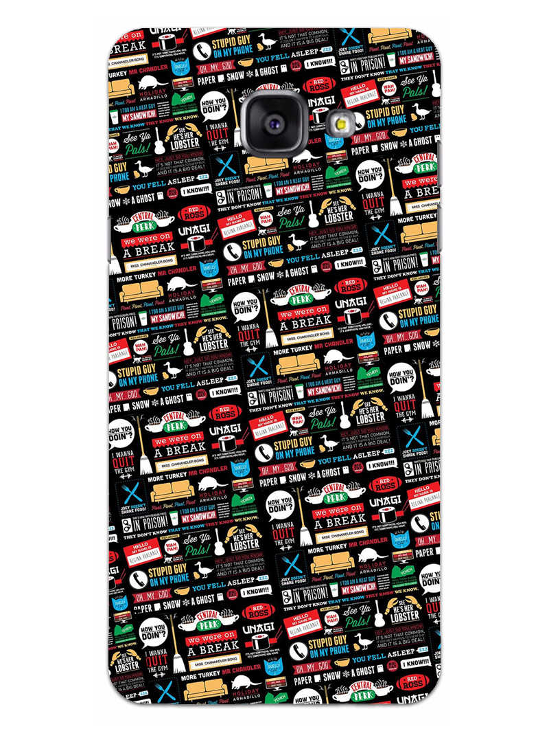 FRIENDS Samsung Galaxy A5 2016 Mobile Cover Case