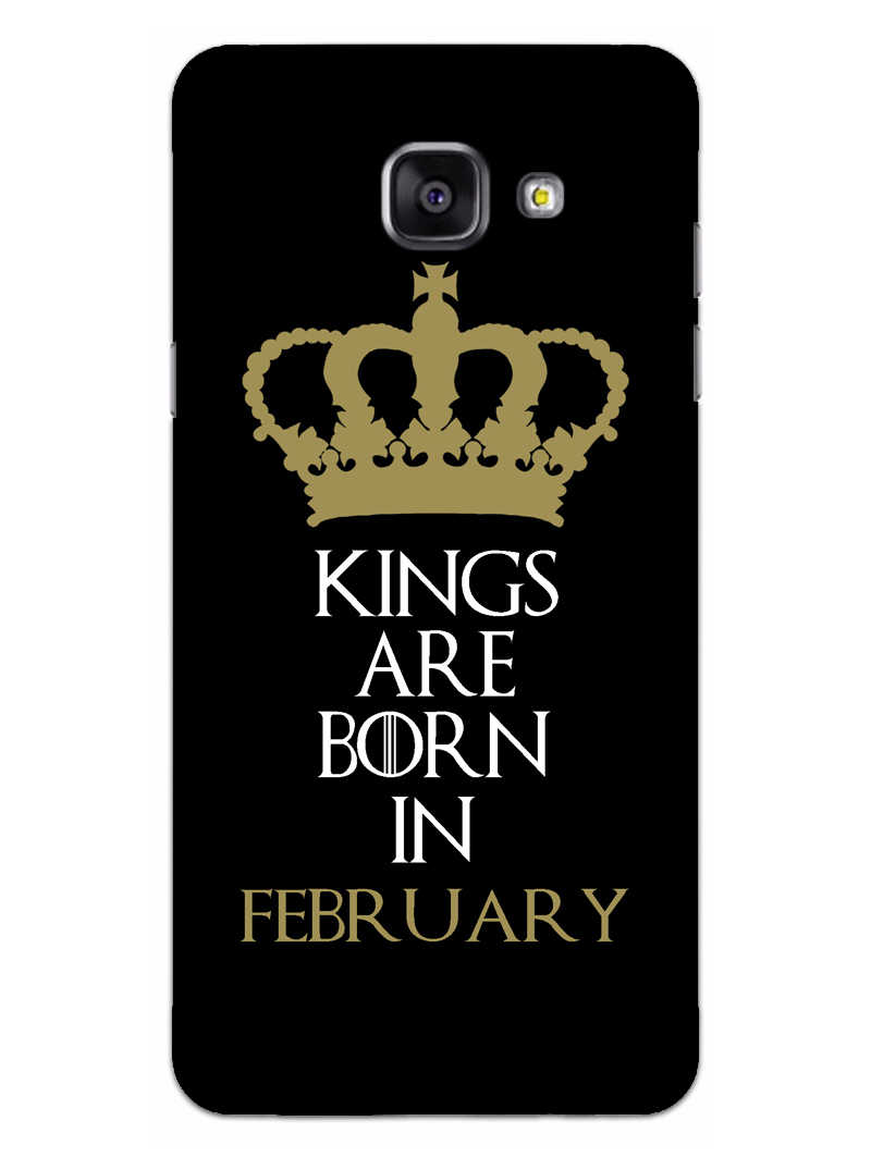 Kings February Samsung Galaxy A5 2016 Mobile Cover Case
