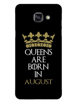 Queens August Samsung Galaxy A5 2016 Mobile Cover Case