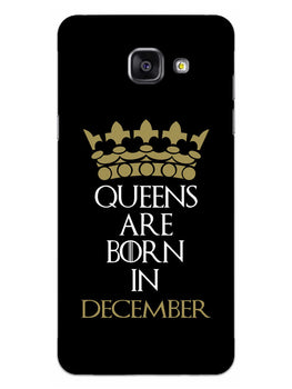 Queens December Samsung Galaxy A5 2016 Mobile Cover Case