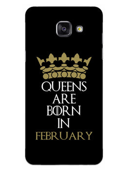 Queens February Samsung Galaxy A5 2016 Mobile Cover Case