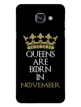 Queens November Samsung Galaxy A5 2016 Mobile Cover Case