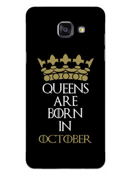 Queens October Samsung Galaxy A5 2016 Mobile Cover Case