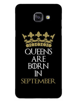 Queens September Samsung Galaxy A5 2016 Mobile Cover Case