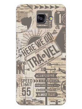 Wanderlust Graffiti Samsung Galaxy A5 2016 Mobile Cover Case