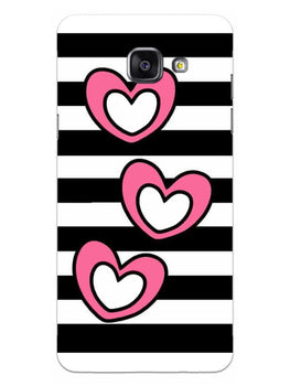 Three Hearts Samsung Galaxy A5 2016 Mobile Cover Case