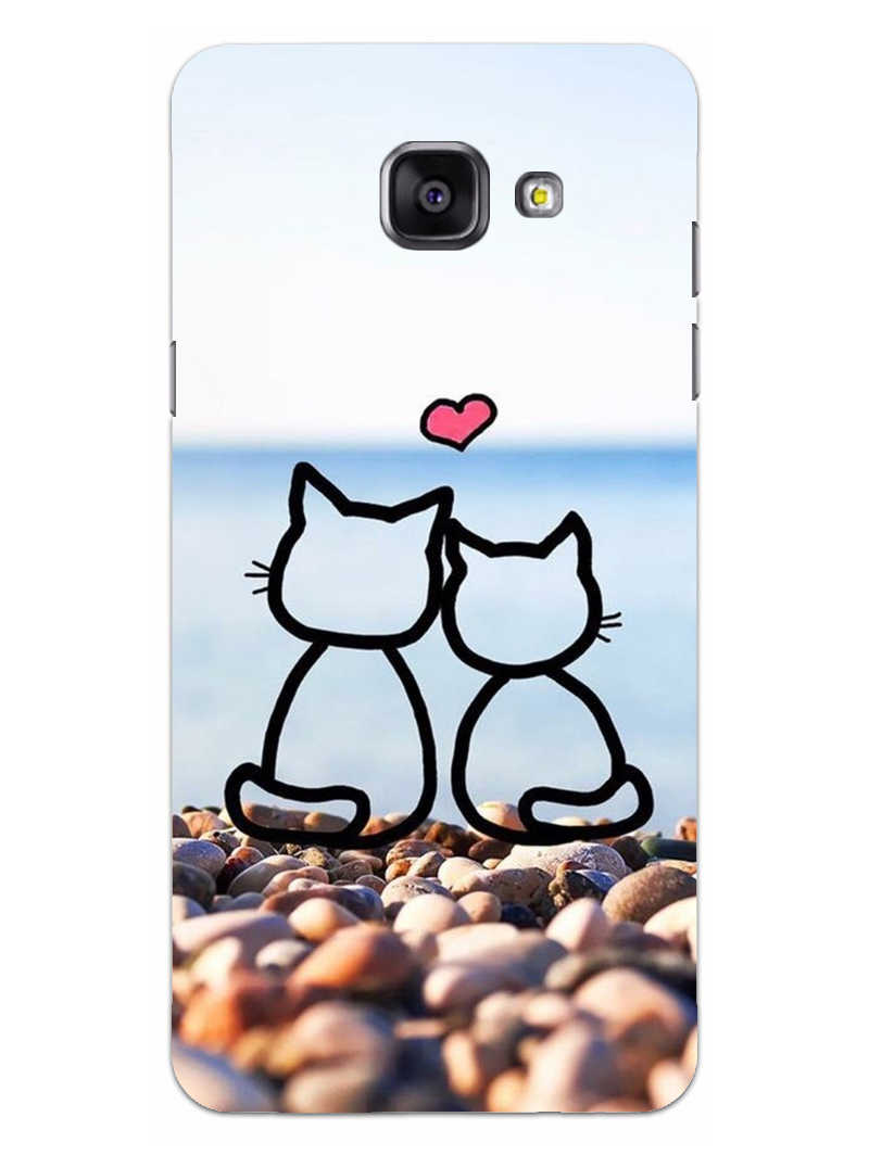 Cat Couple Samsung Galaxy A5 2016 Mobile Cover Case