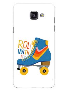 Roller Skate Play With Fun Samsung Galaxy A5 2016 Mobile Cover Case