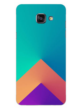 Triangular Shapes Samsung Galaxy A5 2016 Mobile Cover Case