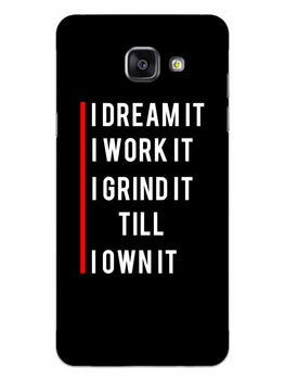 Morning Motivation Samsung Galaxy A5 2016 Mobile Cover Case