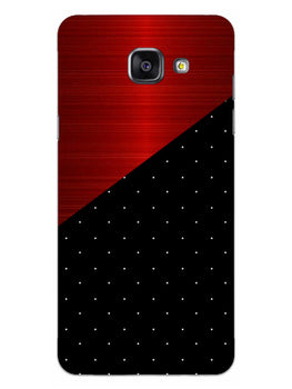 Polka Dots On Wood Samsung Galaxy A5 2016 Mobile Cover Case