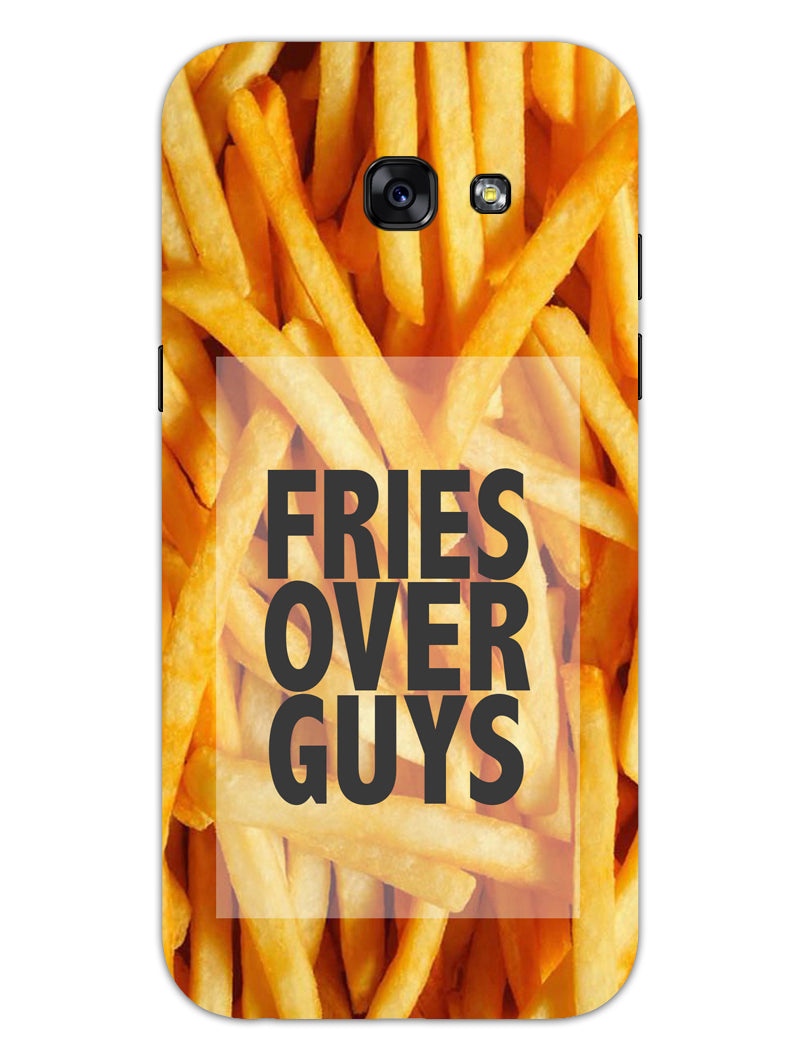 Fries Over Guys Samsung Galaxy A5 2017 Mobile Cover Case - MADANYU