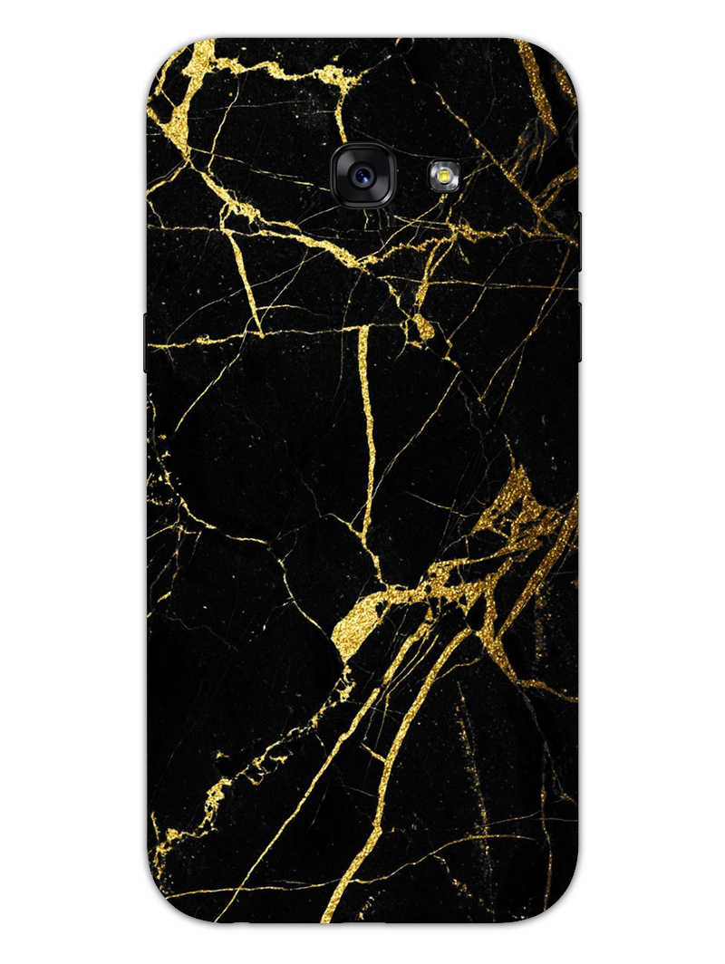 Classy Black Marble Samsung Galaxy A5 2017 Mobile Cover Case