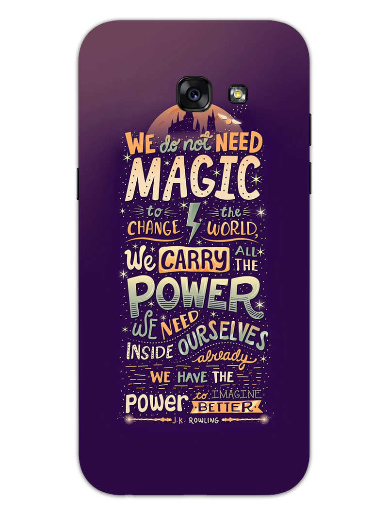 Harry Potter Quote Samsung Galaxy A5 2017 Mobile Cover Case
