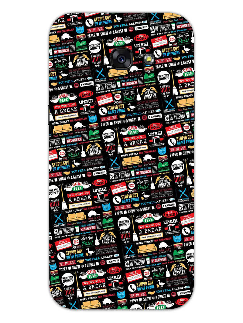 FRIENDS Samsung Galaxy A5 2017 Mobile Cover Case