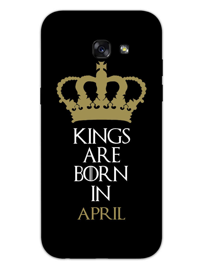 Kings April Samsung Galaxy A5 2017 Mobile Cover Case