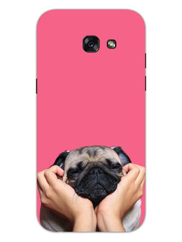Funny Pug Dog Lovers Samsung Galaxy A5 2017 Mobile Cover Case