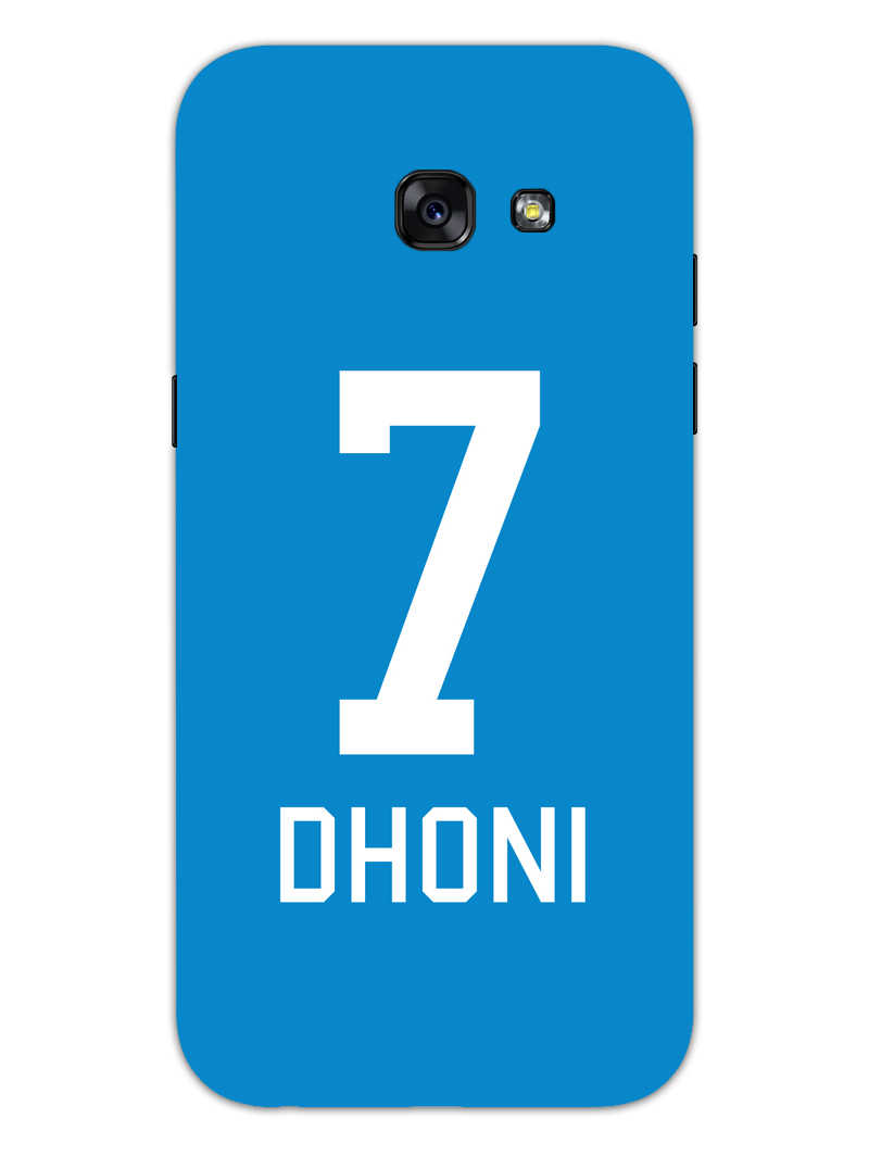 Dhoni Jersey Samsung Galaxy A5 2017 Mobile Cover Case