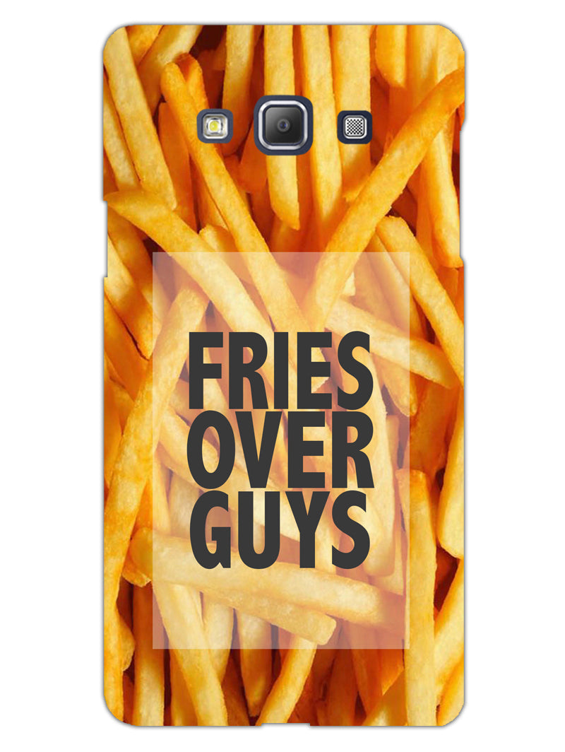 Fries Over Guys Samsung Galaxy A5 2015 Mobile Cover Case