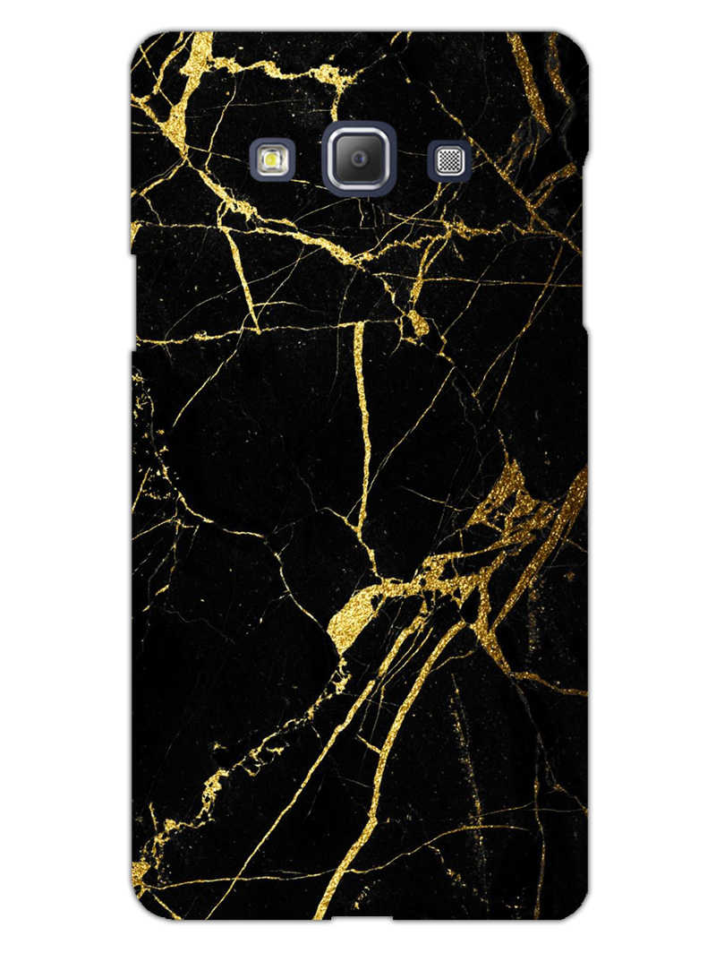 Classy Black Marble Samsung Galaxy A5 2015 Mobile Cover Case