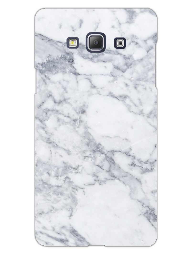 Chic White Marble Samsung Galaxy A5 2015 Mobile Cover Case