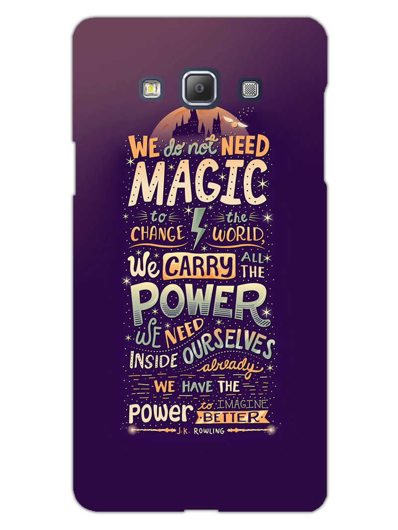 Harry Potter Quote Samsung Galaxy A5 2015 Mobile Cover Case