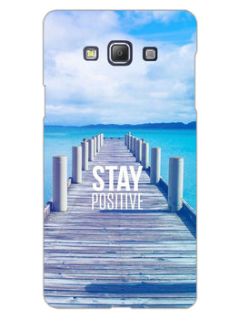 Stay Positive Samsung Galaxy A5 2015 Mobile Cover Case