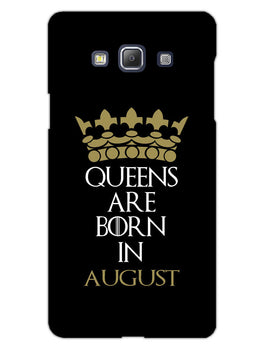 Queens August Samsung Galaxy A5 2015 Mobile Cover Case