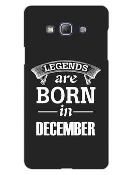 Legends December Samsung Galaxy A5 2015 Mobile Cover Case