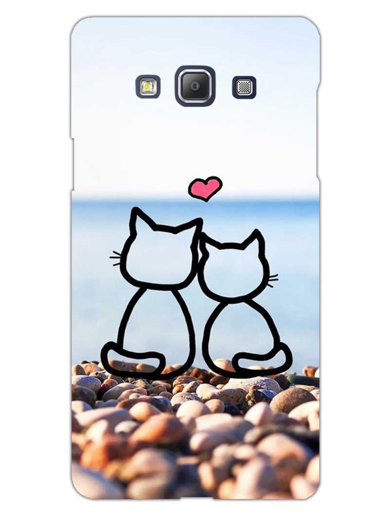 Cat Couple Samsung Galaxy A5 2015 Mobile Cover Case