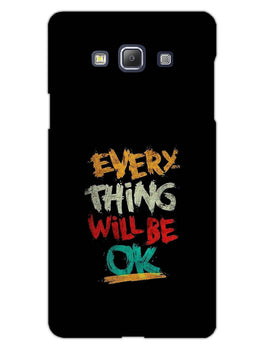 Every Thing Will Be Ok Samsung Galaxy A5 2015 Mobile Cover Case